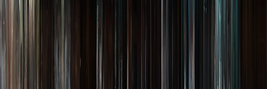 Moviebarcode: The Cabin in the Woods (2011) by moviebarcode