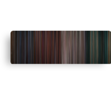 Moviebarcode: The Complete Die Hard Quadrilogy (1988-2007) Canvas Print