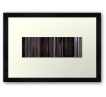 Moviebarcode: James Bond - From Russia with Love (1963) Framed Print