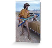 Zappa Moustache Man Greeting Card