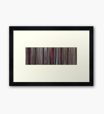 Moviebarcode: Big (1988) Framed Print
