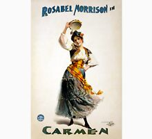 "Vintage Rosabel Morrison ""Carmen"" Theater Unisex T-Shirt"
