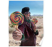 Lollipop Rocker Poster