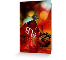 As the Ship Sinks Greeting Card