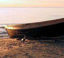 Fishing boat by Eriks Dreimanis
