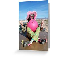 Eccentric Fellow Greeting Card
