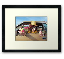 Do you want to juggle? Framed Print