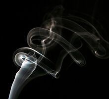 Smoke flowing slow by Eriks Dreimanis