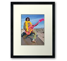 Psychedelic Fool Framed Print