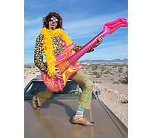 Psychedelic Fool Photographic Print