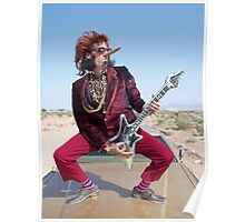 Rockin Air Guitar Poster