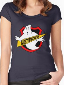 Ghost Smashers Redux Women's Fitted Scoop T-Shirt