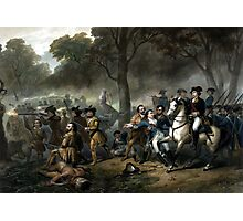 Life Of George Washington -- The Soldier Photographic Print