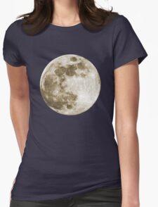 Full Moon - T Shirt Womens Fitted T-Shirt