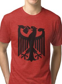 Germany coat of arms eagle beer  Tri-blend T-Shirt
