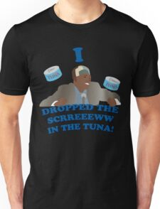 """I dropped the screw in the tuna!"" Unisex T-Shirt"