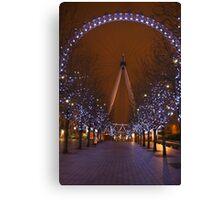 The London Eye.. Canvas Print