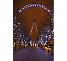 The London Eye.. Photographic Print