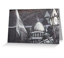 Brick Lane Wall Art Greeting Card
