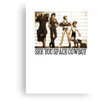 Cowboy Bebop Canvas Print