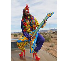 Punk Clown Photographic Print