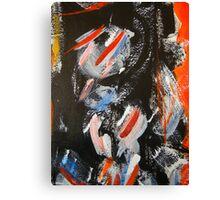 cityscape man.... Canvas Print