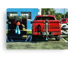 A Masculine Truck Very Canvas Print