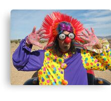 Clown Punk Canvas Print