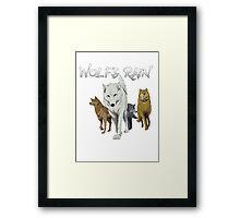 Wolf's Rain Framed Print