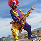 Clown Punk Guitarist by jollykangaroo