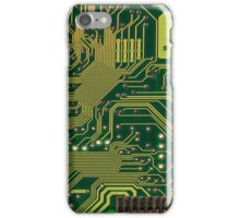 Funny Nerdy Computer Motherboard iPhone Case/Skin