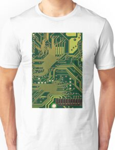 Funny Nerdy Computer Motherboard Unisex T-Shirt
