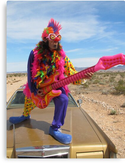 Clown Air Guitar by jollykangaroo