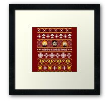 Harry Potter - Happy Christmas Framed Print