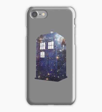 Starry nights and time machines iPhone Case/Skin
