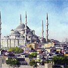 Blue Mosque by ZiyaEris