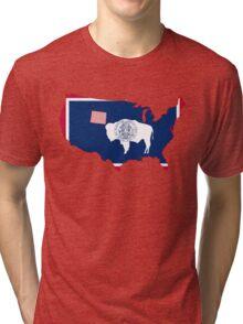 Wyoming Tri-blend T-Shirt