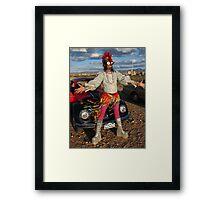 Punk Glam Framed Print