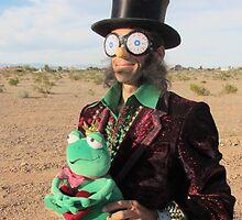 Top Hat Man by jollykangaroo