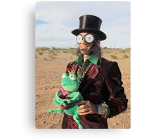 Top Hat Man Canvas Print