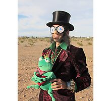 Top Hat Man Photographic Print