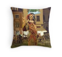 Jester Surreal Throw Pillow