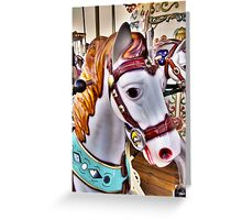 Carousel 2 Greeting Card
