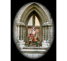 Jester in Europe Photographic Print