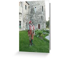 Jester in Estonia Greeting Card