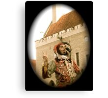 A Jester in Estonia Canvas Print