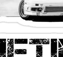 Drifting is not a crime Sticker