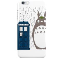 totoro police box  iPhone Case/Skin