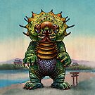 Jengaslug Kaiju Monster by ChetArt