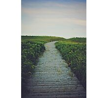 Boardwalk Photographic Print
